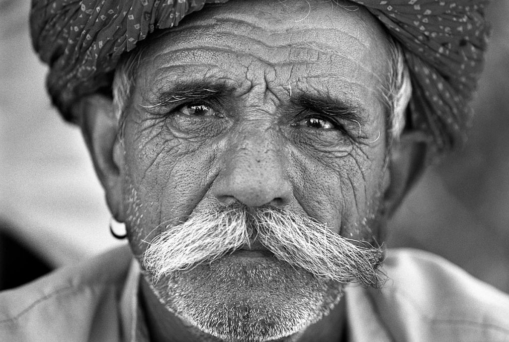 Rajasthan Moustache